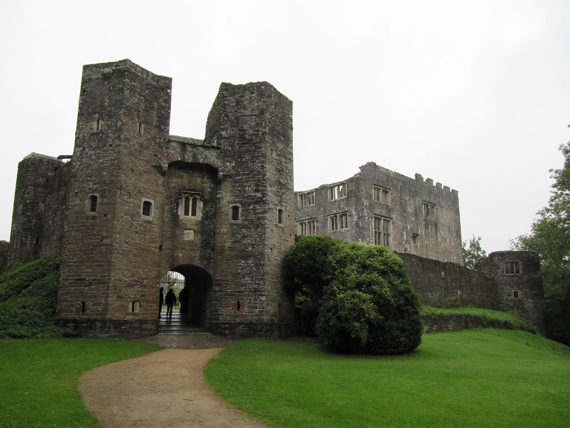 Berry Pomeroy Castle Gatehouse Path