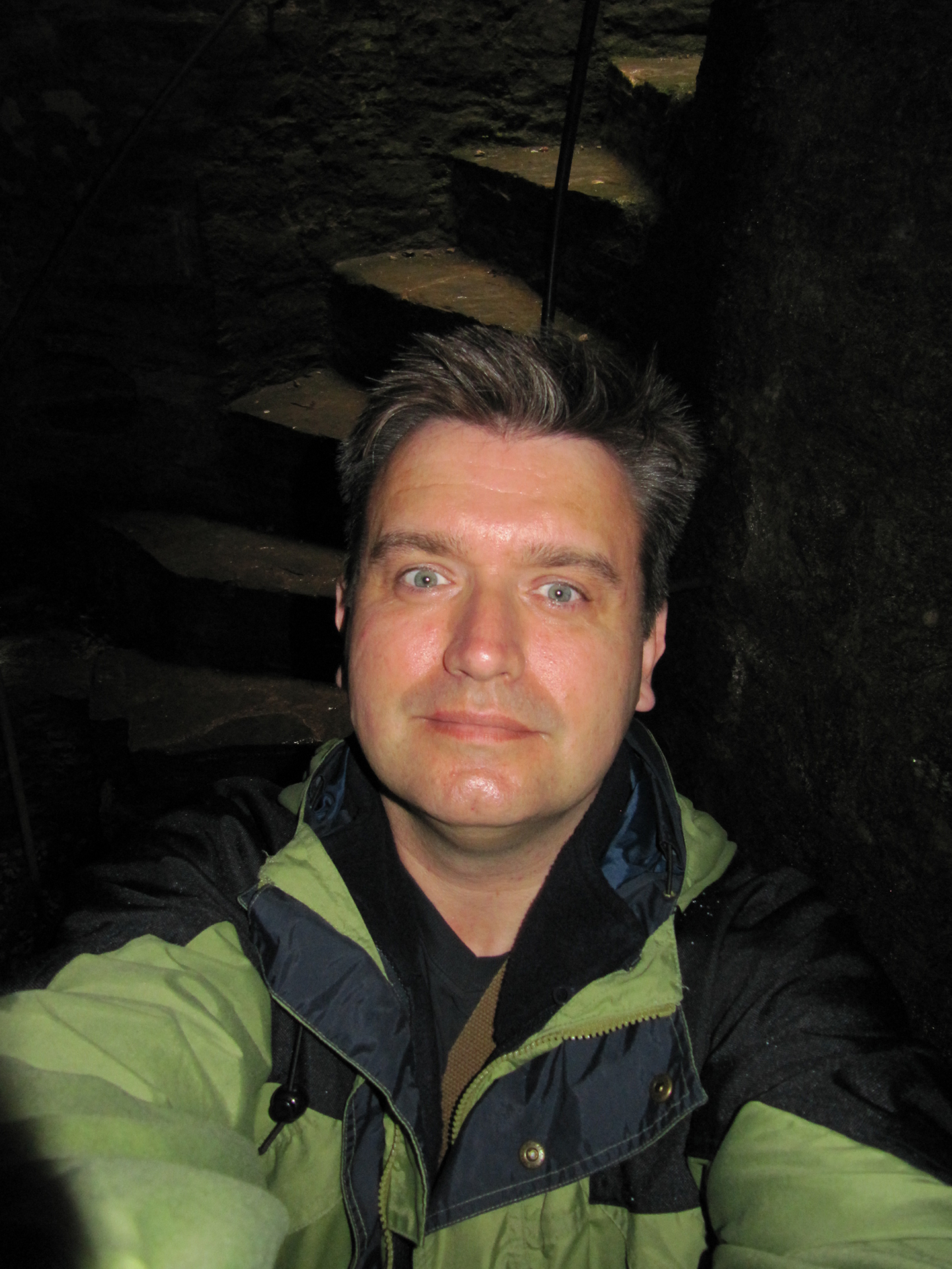 Selfie in St Margarets Tower Berry Pomeroy Castle